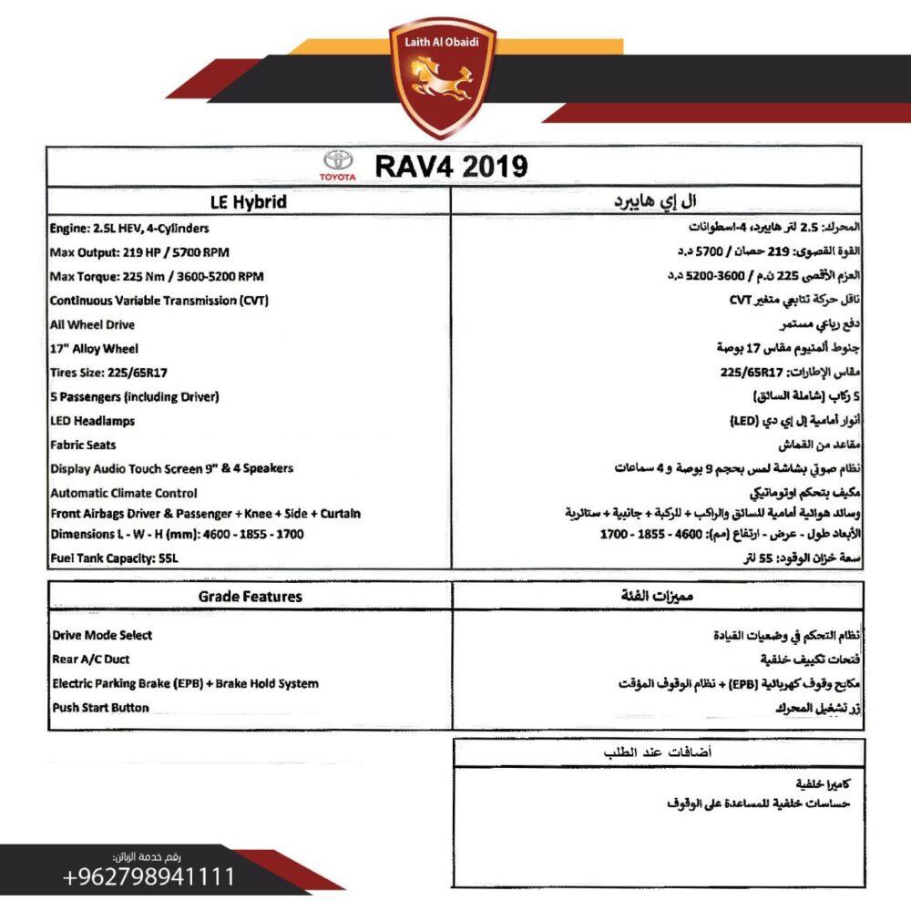 RAV 2019